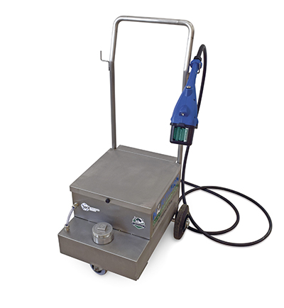 mobile teat scrubber